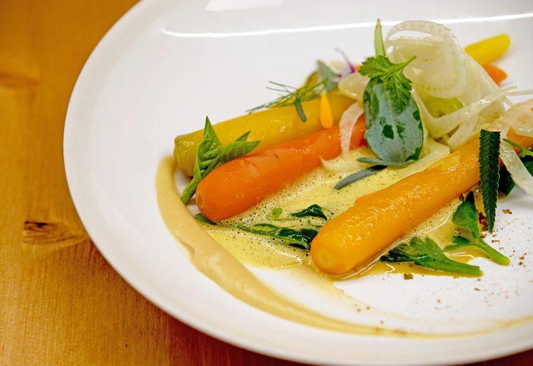 carottes menu végétal